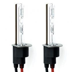 2 x lampade H1 8000K 35W base metallo