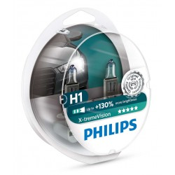 Pack 2x H1 Philips Xtrem Vision +130% 12258XV+S2