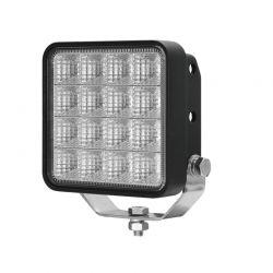 """Phare de Travail LED Carré 24W 4"""" Pyramid pour 4X4 - Camion - Tracteur - OSRAM"""