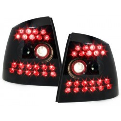 LED taillights Opel Astra G Lim./hatchback 98-04_black