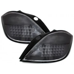 LED taillights Opel Astra H 5d 04-06_smoke