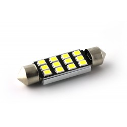 1 x LAMPADINA C10W 12 LED Canbus 95Lms XENLED