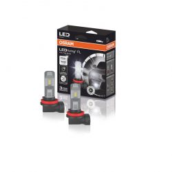 2x OSRAM H8/H11/H16, Feux LED antibrouillard, 67219CW, 12V, 8,2V PGJ19-X