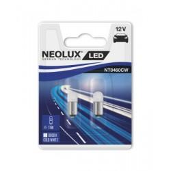 2x T4W BA9S LED Interior NEOLUX 6000K NT0460CW-02B