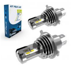 2x Ampoules H4 Bi-LED Terminator3 All-in-One 3200Lms réels CANBUS - XENLED - LUMILED