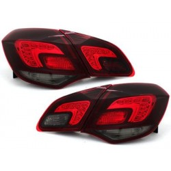 car DNA taillights Opel Astra J LIGHTBAR_black/smoke