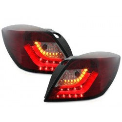 car DNA taillights Opel Astra H GTC LIGHTBAR_red/smoke