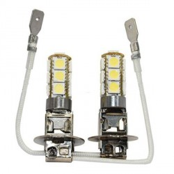 2 x h3 bulbs SMD LED 13 LED