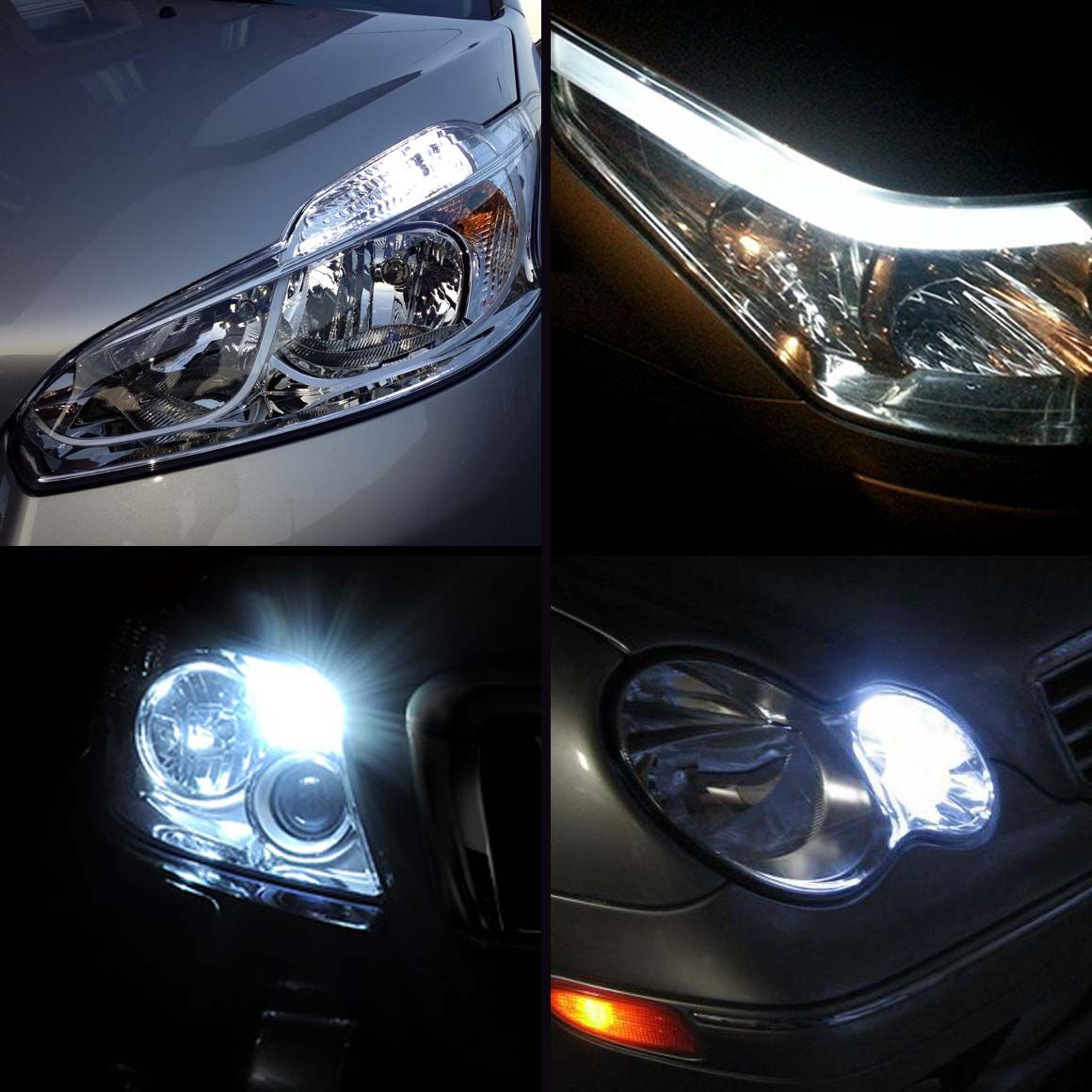 Pack Ampoules LED Veilleuses pour Renault Clio III