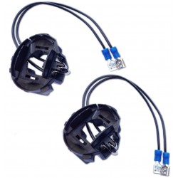 2 adapters wired door Golf bulbs 6 & 7 / Scirocco / touran