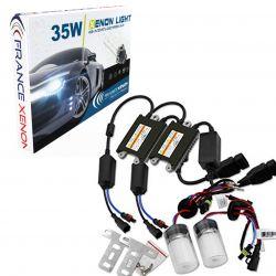Kit Xénon H3 - 8000 °K - Ballast LUXE XPU FDR3+ voiture
