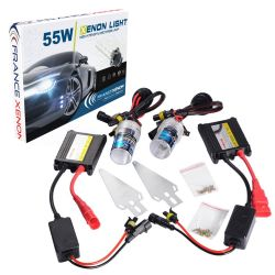 Kit HID - H7 - Ballast normal - 6000°K - voiture