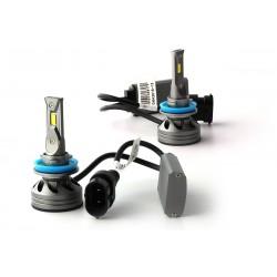 2 x Ampoules H11 6G GEN2 - 5000Lm - 6500K - 12 / 24 Vdc - 55W