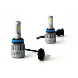 2 x Bulbs H11 LED HeadLight 75W - 6500K
