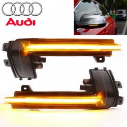 Répétiteurs Rétro LED Dynamique Défilant Audi A3 8P2, A4 B8.5, A5 Mk2, A6, A8