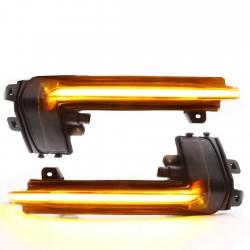 Ripetitori Dynamic LED Specchio Audi A3 8P2, A4 B8.5, A5 Mk2, A6, A8