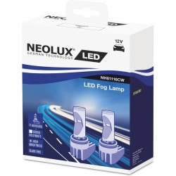 Kit LED H8/H11/H16 NEOLUX Glare Free NH81116CW 6000K PGJ19-X