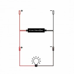 hyperflash canceller module for Xenled flashing lights - Plug & Play