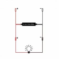 Modulo cancellatore iperflash per luci lampeggianti Xenled - Plug & Play