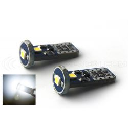 AMPOULE 3 LEDS SMD CANBUS BLANC - T10 W5W