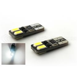 2 x AMPOULES 4 LEDS SMD CANBUS - T10 W5W