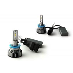 HB3 9005 LED ventilato FF2 - 5000Lms - 6000 ° K - Mini Size