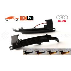 Ripetitori Dynamic LED Specchio Audi A3 8P, A4 B8, A5 Mk1, A6 C6, A8 D3 Q3
