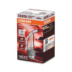 1x Xenonlampe OSRAM XENARC NIGHT BREAKER LASER D2S HID Entladungslampe, 66240XNL