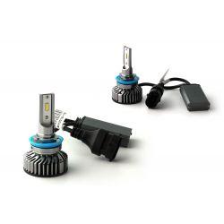 H11 LED ventilato FF2 - 5000Lms - 6000 ° K - Mini Size