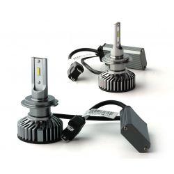 H7 LED ventilato FF2 - 5000Lms - 6000 ° K - Mini Size