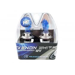 2 x H7 55W 6000K HOD Xtrem Bulbs  - FRANCE-XENON