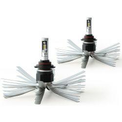 2 x 55w bulbs xl6s HB4 9006 - 4600lm - short - 12v / 24v