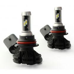 2 x HB5 9007 Bi-LED XT3 55W - 6000Lm - Courtes - 12V/24V