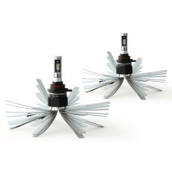 2 x Bulbs HIR2 9012 XL6S 55W - 4600Lm - Short - 12V/24V