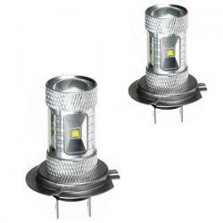 2 x Ampoules 6 CREE 30W - H7 - Haut de Gamme