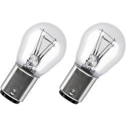2 x Bulbs P21/4W 12V  Standard BAZ15D