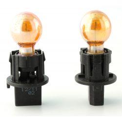2 x lampadine PWY24W Chrome Ambra 24W 12V