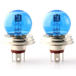 2 x Ampoule R2 P45t 45 / 40W 12V SUPER BIANCO - FRANCIA-XENON