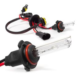 2x HB3 9005 6000K 55W HID bulb
