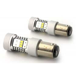 2x BULBS P21/5W - 14 LED OSRAM - P21/5W 1157 T25 - 1200Lms