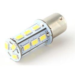 Lampadina 21 LED SMD - BA15S / P21W / 1156 / T25 - Bianco