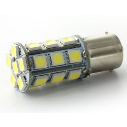 Birnen 24 SMD - LED P21W / BA15S / T25 - weiß