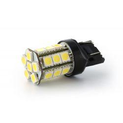 Lampadina 27 LED SMD - W21 / 5W - bianco