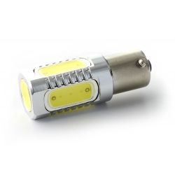 5 LED bulb cob - P21W - White