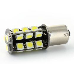 Lampadina P21W - 27 LED SMD - CANBUS - Bianca