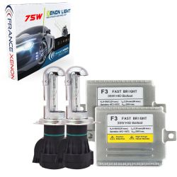 H4-3 bi-xénon - 75W 4300K - Performance Ballast  - voiture