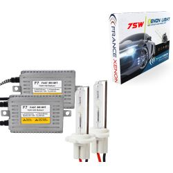 H7 - 6000 ° K - 75w schlank - Rally Cup