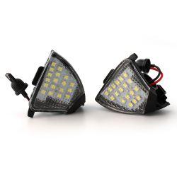 Pack 2 lights LED mirror door Golf 7 & Touran
