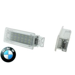 Pack 2 modules d'éclairage de portes LED BMW F01 F02 F03 F04 F07 F10 F11 F20 F30 - BLANC 6000K