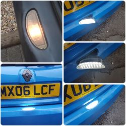 Pack Modul Backplate Renault Clio 2 / Twingo